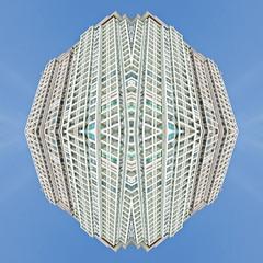 15 11 SYM Sanya 1  [ andre gansebohm] (Andre Gansebohm) Tags: blue white lines architecture experimental pattern symmetry minimal symmetric symmetrical minimalistic lensblr