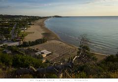 05 luglio 2016 - Vieste - Litorale (Andrea di Florio (Thanks for 6,000,000 views)) Tags: panorama landscape nikon mare estate alba 28 sole puglia spiaggia vacanza d600 foggia 2470 viste andreadiflorio