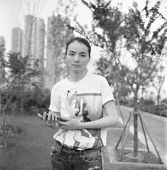 IMG3929fb1 () Tags: china summer portrait people blackandwhite 120 6x6 tlr film girl rollei analog rolleiflex zeiss mediumformat blackwhite wuxi kodak bokeh outdoor trix snapshot chinese d76 squareformat bnw girlsonfilm planar streetshot blackwhitephotography carlzeiss trix400 d7611 rolleiflex35f carlzeisslenses zeisslenses kodakphoto nikonsupercoolscan9000ed planar7535 filmpohotography