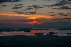 sunset (jollila) Tags: koli roadtrip itäsuomi easternfinland suomi finland summer kesä auringonlasku sunset lakepielinen pielinen