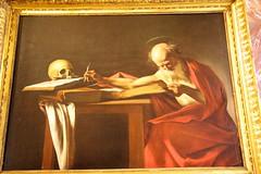 Caravaggio : Saint Jerome (Seoirse) Tags: caravaggio saint jerome gallery borghese