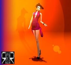 Heating the club (Sophia Paez) Tags: club rapture sophiapaez sophia baxe second life sl dress night dance kandygift fashion modeling modelling blog blogger