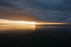 Split (OzGFK) Tags: australia victoria dromana sunset water ocean bay jetty pier clouds fujifilm fuji fujicolor analog film nikon nikkor morningtonpeninsula