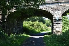 Kilmarnock-Irvine Cycle Path. A Solid Old Bridge. (Phineas Redux) Tags: ayrshirescenes kilmarnockirvinecyclepath cyclepaths ayrshire scotland knockentiber
