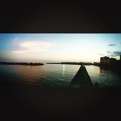 #sunset (Photo/Graphic) Tags: instagramapp square squareformat iphoneography uploaded:by=instagram lofi livorno pancaldi lungomare sanjacopo