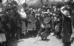 C. 1910 Easter Egg Hunt, Boston Common (Historicimage) Tags: boston bostonmassachusetts bostoncommon easter easteregghunt childrenofboston vintagechildren vintagephoto oldboston