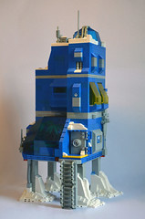 Ice Planet Research Complex 01 (IamKritch) Tags: space classicspace science base neoclassicspace lego