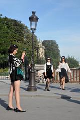 Tourist elegance (jeangrgoire_marin) Tags: asian lady ladies pretty elegant elegance tourist tourism travel paris summer