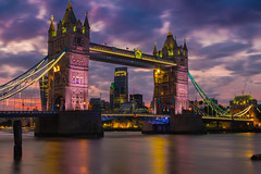 Tower Bridge, London (cjthorose) Tags: london england unitedkingdom gb longexposure fuji xt10 citysatnight cityview amazingview bridge towerbridge