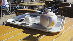 Tea In The Sun (Katie_Russell) Tags: ni ireland nireland northernireland ulster norniron tea pot cup mug drink cuppa sun shadow shadows costa coleraine outside coderry colderry colondonderry countyderry countylderry countylondonderry