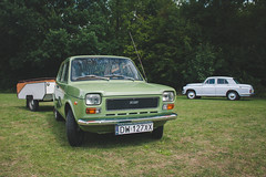 Fiat 127 & FSO Warszawa 223 (amakles) Tags: fso warszawa 223 224 203 204 m20 prl polish poland polska canon moto classic topacz wroclaw 60s 70s fiat 127 italy italian duet vintage