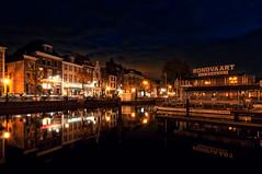 Turfmarkt, Leiden | the Netherlands (frata60) Tags: nikon d300s tokina 1224mm leiden netherlands nederland city cityscape turfmarkt nightshot avondfotografie avond blauwuurtje landscape landschap luchten lucht longexposure le