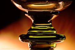 Golden Light (sure2talk) Tags: macromonday backlit glass goldenlight nikond7000 nikkor85mmf35gafsedvrmicro match lit flame abstract