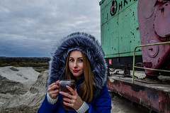 Katya (ivan_volchek) Tags: girl face cup tea eyes portrait people