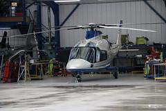 G-DVIP Agusta A109E, Castle Air Ltd, Trebrown Heliport, Liskeard, Cornwall (Kev Slade Too) Tags: gdvip agusta a109 castleairltd castlemotorsltd trebrown liskeard cornwall
