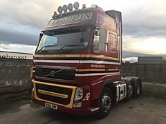 Ferguson Transport Invergordon Volvo FH KS63 VMR (Kilmachalmag) Tags: smelter invergordon brittish aluminium baco