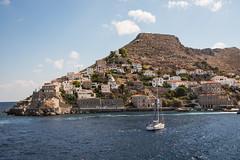 Hydra - Italianate Hillside Mansions 4 (Le Monde1) Tags: greece island hydra port coast monastery greek lemonde1 nikon d800e saronicislands aegean sea town italianate mansions hillside