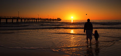 quanto ti voglio bene (Bec .) Tags: bec canon 80d 1022mm adelaide southaustralia henleybeach jetty pier water ocean sea mother daughter mamma shore sand sunset sun light beautiful moment reflection seagull flight ilvolo love quantotivogliobene