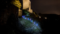 going upstairs (>>nicole>>) Tags: ball burg castle kugel led lichtmalerei lightpainting orb ruin ruine ledlenser waltherpro