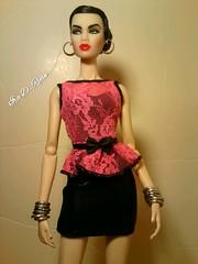 her (krixxxmonroe) Tags: ira d ryan photography krixx monroe styling fashion royalty nu face fr2 opium ayumi black brocade suit by the vogue hong kong