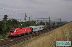 BB 1116 003 Rail Cargo Austria - lok (taurus00806) Tags: bb 1116 003 rail cargo austria lok biatorbgy hungary military zug