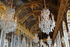 Hall of Mirrors at Versailles (big_jeff_leo) Tags: paris louis versailles palace architecture gold heritage building statelyhome historic art ceiling fresco imperial unesco hallofmirrors french royal