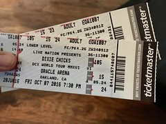 Tix (patia) Tags: dixiechicks tickets