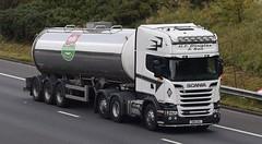 SN16OAL  GT Douglas (highlandreiver) Tags: sn16oal sn16 oal gt douglas transport haulage scania truck lorry wagon m6 wreay carlisle cumbria