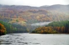 Loch Faskally (eric robb niven) Tags: ericrobbniven scotland loch faskally landscape perthshire cycling dundee mist autumn autumnwatch