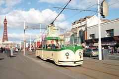 600 Boat Tram (Steveo46240) Tags: 600 boat tram blackpool blackpooltower