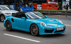 (seua_yai) Tags: car automobile asia korea southkorea korean seoul urban city street wheels korea2015 urbanmobility go koreaseoul2016 porsche 911 turbo germancar sportscar