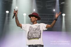 Pharrell @ Formula 1 in Abu Dhabi