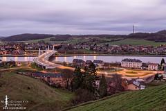 Kanne (DigiGerard2011) Tags: bridge water landscape twilight marc brug kanne landschap longtime albertkanaal geeraerts digigerard