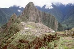 Machu Picchu. Inca fortress  capital of Peru.