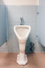 02-13-2015 (whlteXbread) Tags: winter bathroom colorado afternoon plumbing boulder retro infrastructure urinal duchamp dailies 2015 iphone5s faceit365:date=20150213