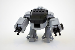 ED-209 (jskaare) Tags: lego creation products enforcement robocop omni own droid consumer ed209 ocp moc