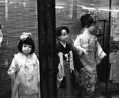 children of the damned (troutfactory) Tags: blackandwhite bw film monochrome strange japan mediumformat children weird mannequins rangefinder creepy hakama 日本 osaka kimono analogue 6x7 着物 displaywindow ilforddelta3200 子供 白黒 袴 マネキン 大阪府 fujifilmgf670 voigtlanderbessaiii