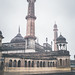Asfi mosque in the rain