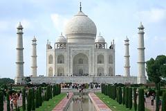 Agra - Taj Mahal (shumpei_sano_exp4) Tags: india monument wonder muslim taj mahal tajmahal agra unesco worldheritage pradesh uttar mughal uttarpradesh 7wonders mumtazmahal muslimart mughalarchiture