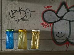 garbage (Rino Alessandrini) Tags: urban trash graffiti decay cement plastic urbano cemento periferia abandonment outskirts spazzatura plastica abbandono degrado