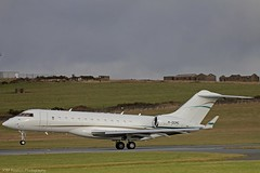 Global Express M-OGMC at Isle of Man EGNS 17/01/15 (IOM Aviation Photography) Tags: man express isle global 170115 egns mogmc