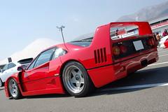 Ferrari F40 (Andr.32) Tags: red italy cars car japan photography all fuji meeting ferrari lamborghini supercar speedway speciale supercars f40 pininfarina fsw 2014  smd fujispeedway       carguy
