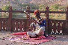 Kesariya Balam (Niyantha) Tags: travel portrait music india streetmusic rajasthan peoplephotos ravanhatha kesariyabalam ravanahatha peopleinrajasthan