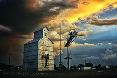 (Chains of Pace) Tags: sunset storm oklahoma clouds sony prairie panhandle guymon