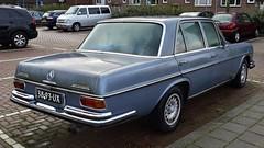 Mercedes-Benz 280SE Automatic (sjoerd.wijsman) Tags: auto blue holland cars netherlands car sedan mercedes benz rotterdam blijdorp blauw nederland thenetherlands voiture bleu mercedesbenz holanda blau saloon paysbas berline olanda fahrzeug b
