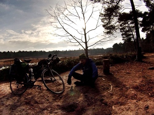 """""""You cycle way to slow Henk, keep it up!"""", says Ringo #r2s #adventuremascotte #adventure #cycling"""