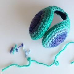 Beautiful wool! Mint and lavanda earmuffs (Mamipaula y Pipocass Handmade) Tags: wool handmade earmuffs giftideas earwarmers orejeras winteraccesories pipocasshandmade unisexearmuffs