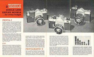 Yashica Sales Brochure... 1962 or so