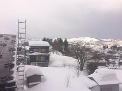 Nieve con un poco de sol