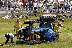 stock photo by Remsberg Inc (Remsberg Photos) Tags: rescue usa tractor horizontal demo death display accident colorphotography fake save example pa help aid statecollege agriculture dummy firefighter act unfortunate digitalimag